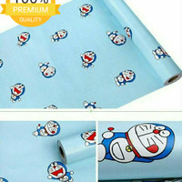 Jual Grosir Murah Wallpaper Sticker Dinding Kartun Doraemon Dasar Biru Jakarta Utara Nadya Wallpaper Tokopedia