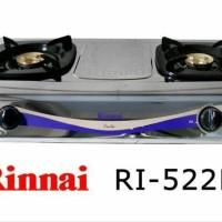 KOMPOR GAS RINNAI EXOTIC RI 522E