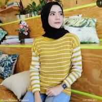Baju Blouse Wanita Terbaru Amira Prilly Blaster Baju Rajut Knit Murah