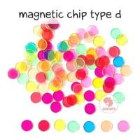 Zoetoys Magnetic Chip Type D | mainan edukasi | mainan anak | edutoys