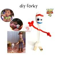 Zoetoys DIY Forky Toy Story 4 | Make Your Own Forky Craft Kit