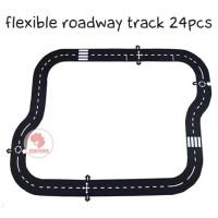 Zoetoys Flexible Roadway Track 24pcs | Lego | mainan edukasi | edutoys