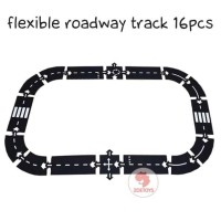 Zoetoys Flexible Roadway Track 16pcs | Lego | mainan edukasi | edutoys