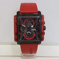 Jam Tangan Pria Expedition E6757MC Chronograph Red Rubber Strap