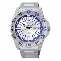 Seiko 5 Sports SRP481K1 Baby Ice Monster White Dial Original