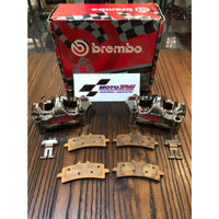 Kaliper Brembo CNC 100% Original GP4 RX 100mm