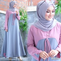 Baju Havana Dress Pink /Grosir Baju Muslim Gamis Long Maxi Dress Murah