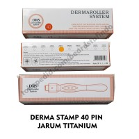 DERMA STAMP DERMASTAMP 40 PIN ALAT MEMASUKKAN SERUM WAJAH 0.2-3.0 MM
