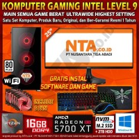 KOMPUTER GAMING AMD LEVEL 9