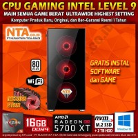 CPU GAMING AMD LEVEL 9