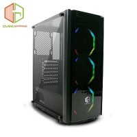 CUBE Gaming HUNTINGTON - ATX - Front & Side Tempered