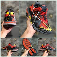 Sepatu Balenciaga Track 2 Black Orange Yellow