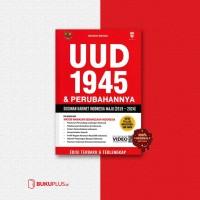 UUD 1945 & PERUBAHANNYA SUSUNAN KABINET INDONESIA MAJU 2019-2024