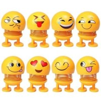 AY Pajangan Dashboard Mobil Boneka Emoji Goyang