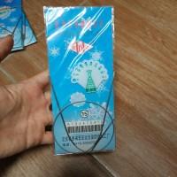 Circular Needles 43cm 1.75mm UK15 Stainless (Knitting Needle)
