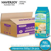 Haverjoy Full Carton Havermix Rolled Oats & Barley Flakes 500 g