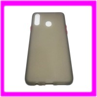 Samsung Galaxy A20S Softcase Button Candy Colors Case