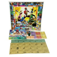 Mainan Anak Monopoli Power Ranger Family Board Game Monopoly 3 in 1