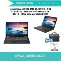 Lenovo Ideapad C340-8FID i3-10110U 8 GB 512 GB SSD Nvidia MX230 win 10