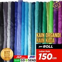 Kain ORGANDI Lebar 150 cm TERLARIS Bahan Dekorasi,Gaun Per ROLL 45 Mtr