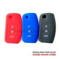 Kondom Kunci Silikon Remote Keyshirt Ford Fiesta