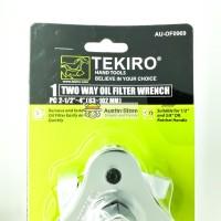 """Kunci Filter Oli/ Two Way Oli Filter Wrench 2-1/2""""-4""""(63-102mm) Tekiro"""