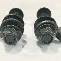 Baut chamber spooring ukuran 14 mm (1 set 2 biji)