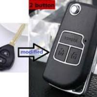 Casing Kunci Lipat Flip Key Toyota Innova Yaris Vios Altis Toyota 2 To