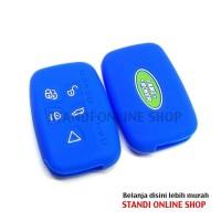 Silicone Remote Cover Kondom Kunci Range Rover Sport Discovery Evoque