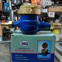 Water Meter / Meteran air / Meteran PAM bahan besi IMD (SNI) RESMI
