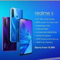 REALME 5 4/128 RESMI BY OPPO