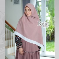 KHIMAR INSTAN REIA BROWN OAK BY YASMEERA BAHAN DIAMOND ITALIANO