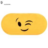Jual Tempat Pensil Motif Emoji Kartun Bahan Plush Untuk Pelajar