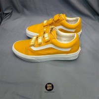 Sneakers Vans Old Skool Velcro Yellow Sunflower Women