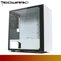 Tecware - Nexus M White Tempered Glass Mid-Tower Case