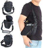 Pinyu Camera Cover Case Bag for Canon EOS M3 M M2 M3 M6 M M10 SX520 SX400 SX410 SX420is SX500 SX510 SX530 SX540HS with Shoulder Strap Color : Light Grey