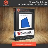s4u MakeFace Pro Plugin SketchUp Original License dan Support
