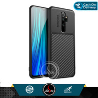 Case Xiaomi Redmi Note 8 Pro Soft Case Carbon Combine Auto Focus