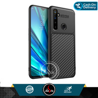 Case Realme 5 Pro Soft Case Carbon Combine Auto Focus