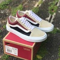 Sneakers Vans Old Skool Trainer Red/Navy/White