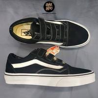 Sneakers Vans Old Skool Velcro Suede Black/White