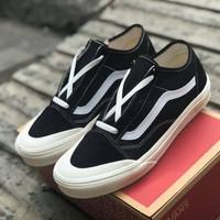Sneakers Vans Old Skool SF Salt Wash Black/White Style 36