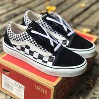 Sneakers Vans Old Skool Mix Checkerboard Black True White