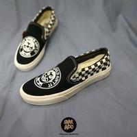 Sneakers Vans Slip On John Van Hamersveld Checkerboard Black