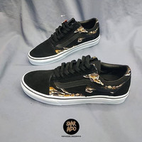 Sneakers Vans Old Skool Tiger Camo Black snkrindo