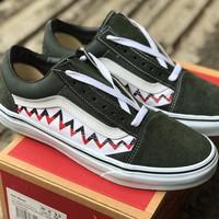 Sneakers Vans Old Skool Sharktooth Green