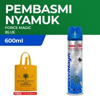 Force Magic Blue 600ml Free Recycled Shopping Bag