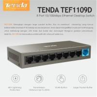 Tenda TEF1109D Switch Hub 10 100Mbps 8 Port Fast Ethernet