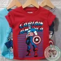Baju Karakter Kaos Anak Superhero