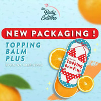 TOPPING BALM BPOM BY THE BODY CULTURE TOPPING BALM PEMERAH PUTING